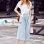 ชุดเสื้อ+กางเกง เสื้อผ้าสีขาว thumbnail 4
