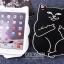 เคสซิลิโคน แมวดำ แมวขาว (เคส iPad mini 4) thumbnail 3