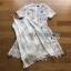 Lady Katie Sweet White Mini Dress thumbnail 7