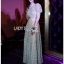 Lady Maryanne Cream Lace Cropped Top and Maxi Skirt thumbnail 4