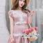 ชุดกระโปรงสวยหวานโทนสีชมพูนู๊ท thumbnail 2