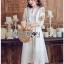 Bohemian Embroidered Lady Ribbon Cotton Dress thumbnail 3