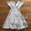 Lady Ariana Sparkling Little Star Printed Dress thumbnail 7