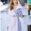 Shirt Dress Lady Ribbon เชิ้ตเดรส thumbnail 4