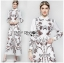 🎀 Lady Ribbon's Made 🎀 Lady Babara Wild Printed White Shirt Dress thumbnail 1