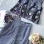 ผ้าคอตตอนทอลายริ้วสีกรม thumbnail 9