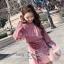 เสื้อ+กระโปรงเกาหลีผ้ายืดได้ thumbnail 3