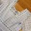 เดรสผ้าคอตตอนตกแต่งลูกไม้สีเทาอ่อนสไตล์วินเทจ thumbnail 9
