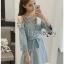 Lady Polly Striped Cotton Shirt Dress thumbnail 4