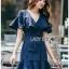 Maria Double-Breasted Dress Lady Ribbon thumbnail 5