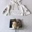 เสื้อเนื้อผ้าโฟรเวย์โทนสีขาวออฟไวท์ thumbnail 7