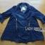 Lady Ribbon Denim Coat Dress thumbnail 7