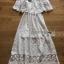 White Lace Dress thumbnail 5