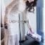 Maxi Dress เดรสยาวผ้าลูกไม้สีขาวทรงแขนยาว thumbnail 3
