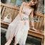 Lady Lauren Cotton with Lace Dress thumbnail 3