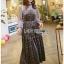 Star Printed Velvet Lady Ribbon Dress thumbnail 1