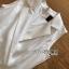 Chic Lady Ribbon Clean White Suit Dress thumbnail 5