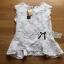 Lady Ribbon Sleeveless Lace Top เสื้อแขนกุดคอสูง thumbnail 6