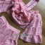 Lady Erika Bubblegum Crop Top and Skirt Set thumbnail 6