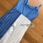 Two-Tone Striped Twisted Lady Ribbon Dress thumbnail 6