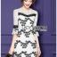 Lace Dress Lady Ribbon ขายเดรส thumbnail 1