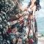 Maxi Dress เกาหลีเดรสสายเดี่ยว thumbnail 3