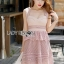 Pink Lace Lady Ribbon Dress thumbnail 2