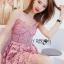 Lace Single Dress เดรสสายเดี่ยว thumbnail 3