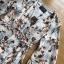 Chiffon Dress with Flower Belt thumbnail 4