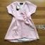 Rosa Sweet Casual Pastel Mini Dress with Ribbon thumbnail 7