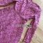 เดรสผ้าลูกไม้สีชมพูเข้มสไล์คลาสสิกโมเดิร์น thumbnail 10