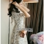 Chiffon Dress เดรสผ้าชีฟองพิมพ์ลายดอกไม้ thumbnail 6