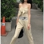 Lady Lily Casual Chic Ribbon Jumpsuit thumbnail 3