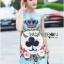 Lady Marie Italian Style Brocade Dress thumbnail 4