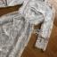 Lace Midi Dress เดรสแขนสามส่วน thumbnail 6