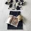 ผ้าชีฟองพิมพ์ลายดอกไม้ใหญ่สีน้ำเงิน thumbnail 9