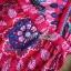 เดรสผ้าเครสพิมพ์ลายขนนกสีสดใส thumbnail 10