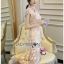 Lady Sophia Chinoise Baby Pink Lace Dress thumbnail 5