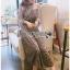 Star Printed Velvet Lady Ribbon Dress thumbnail 3