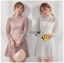 Chic A-line Lace Mini Dress thumbnail 1