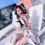 ชุดเดรสดอกเกาหลีผ้าจอร์เจียร์ thumbnail 5