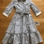 Shirt Dress with Ribbon เชิ้ตเดรสลายทางปักลาย thumbnail 9