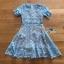 Vivid Blue Lace Dress เดรสสั้นผ้าลูกไม้สีฟ้าสด thumbnail 7