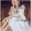 Bohemian Embroidered Lady Ribbon Cotton Dress thumbnail 4