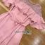 Lady Ribbon Chiffon Dress เดรสผ้าชีฟอง thumbnail 7