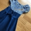 Lady Carrie Country Girl Off-Shoulder Blue thumbnail 6