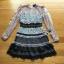 Layered Lace Lady Ribbon Mini Dress thumbnail 7