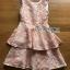Peachy Lace Dress เดรสผ้าลูกไม้สีพีช thumbnail 8
