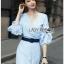 Cotton Dress Lady Ribbon เดรสผ้าคอตตอน thumbnail 3