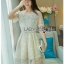 Lace Dress Lady Ribbon ขายเดรส thumbnail 2